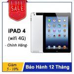 Máy Tính Bảng iPad 4 Wifi 4G