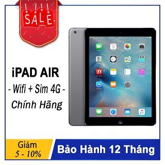 Máy Tính Bảng iPad Air Wifi + SIM 4G