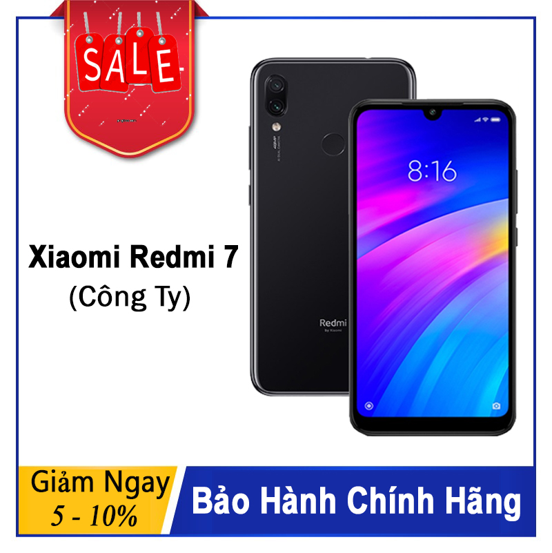 Xiaomi Redmi 7 Chính Hãng DGW