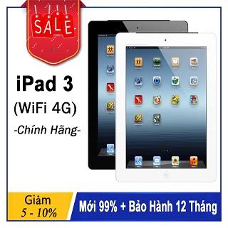 Máy Tính Bảng iPad 3 Wifi 4G